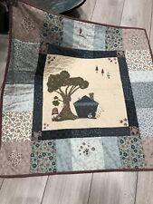 """Handmade The Little House Quilt 33"""" x 33"""""""
