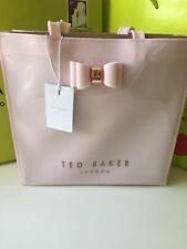 DESIGNER Ted Baker Pink Large Icon Bow Detail Bag