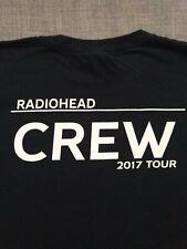 Radiohead LE Crew T-shirt 2017 Tour XL