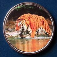 Somaliland 10 Shillings 2018 UNC Tiger unusual coin