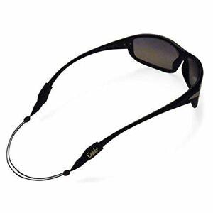 Cablz Zipz Eyeglass Retrainer Cord Black 18