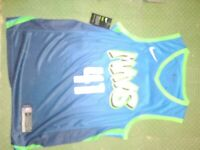 dallas mavericks dirk nowitzki jersey Dri-fit Size Xl NWT Nike