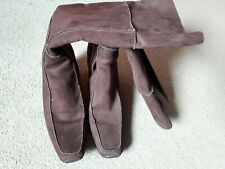 Ladies Brown wedge Boots Size 8