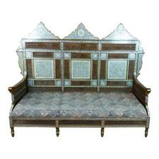 Fabulous Syrian Sofa inlaid with Mother of Pearl