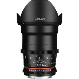 Rokinon 35mm T1.5 Cine DS Lens for Micro Four Thirds Mount DS35M-MFT
