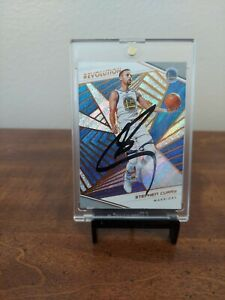 2020 Stephen Curry signed card Golden State Warriors Steph