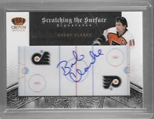 BOBBY CLARKE 2010/11 CROWN ROYALE SCRATCHING THE SURFACE AUTOGRAPH AUTO #21/50