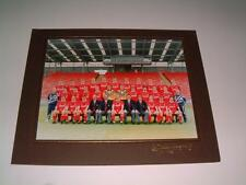 ABERDEEN FC 1992 RARE ORIGINAL SQUAD PHOTOGRAPH MOUNTED ON TO CARD