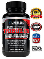 Tribulus Terrestris -45% Steroidal Saponins - Highest Purity 1500mg Get it free!