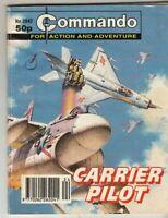 COMMANDO COMIC - No 2842   CARRIER PILOT
