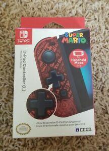 D-Pad JoyCon Controller (L) Joy-con Nintendo Switch Super Mario Joy Con Left