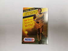 Chicago Sting 1985/86 MISL Indoor Soccer Pocket Schedule - Team
