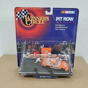 NASCAR 1999 Winners Circle TONY STEWART Pulling Out 1:64 Diecast Pit Row Series