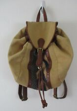 Lucky brand Kendal Washed linen backpack purse