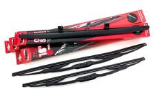 Trupart Front Windscreen Wiper Blades with Drivers Side Spoiler (TV53/53+TVSP)