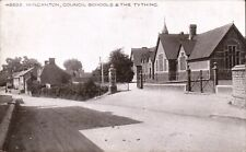 Wincanton. Council School & The Tything # 48293 by Photochrom.
