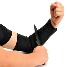 Cut Proof Arm Sleeve Protective Armband Steel Guard Wire Bracers Anti Knife Hand