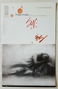 30 Days of Night #1 5th Anniversary Foil Signed By Templesmith & Niles + COA NM+
