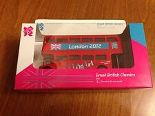 Diecast Red London Double Decker Bus - Olympics 2012 - New & Boxed