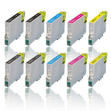 10x Tinte Patronen für EPSON Stylus S20 S21 SX100 SX110 SX115 SX200 SX215 SX410