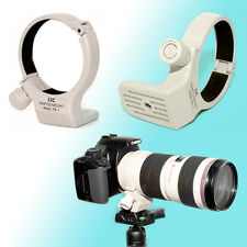Tripod Mount Ring Collar A II (W) for Canon 70-200mm f/4L IS USM Flocked SSW JJC
