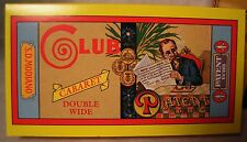 Club SD Modiano ORIGINAL CABARET WIDTH Cigarette Rolling Papers RARE VINTAGE