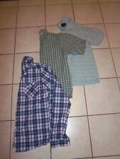 3 Boy's Men's Button Down Casual Dress Shirts - Small & Medium Wrangler One90One