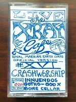 Live at The X-ray Cafe PDX Cassette Tape XVI Crash Worship Innuendos Bone Cellar