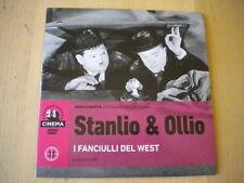 DVD STANLIO E OLLIO I FANCIULLI DEL WEST N°33 IL SOLE 24 ORE CINEMA