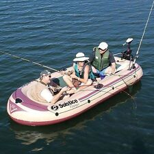 Solstice Voyager 800 6 Person Inflatable Boat Raft Used Raft Only No Accessories