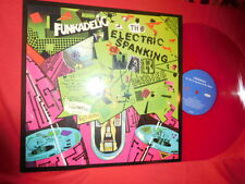 FUNKADELIC The Electric Spanking Of War Babies LP 2005 ITALY MINT Red Wax