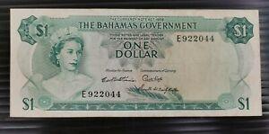 Bahamas 1965 $1 note.
