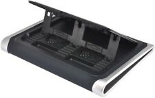 Gear Head CFS8800BLK Laptop Neoprene Cooling Wedge 2 FANS with Built-in Stand