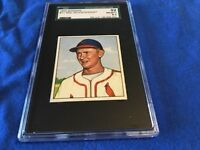 1950 BOWMAN # 71 RED SCHOENDIENST SGC 92 NMMT+,HOF, SGC POP OF 2 ,St.LOUIS CARDS