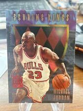 1995-96 Fleer Ultra MICHAEL JORDAN Scoring Kings INSERT Bulls #4 of 12 SP