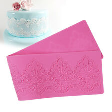 Wedding Cake Decoration Mould Silicone Cake Mold Chocolate Pastry Tool Lace Mat