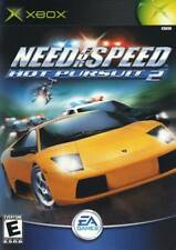 Need for Speed: Hot Pursuit 2 (Microsoft Xbox, 2002) Complete Rate E MultiPlayer