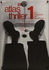 Les DIABOLIQUES DIABOLIQUE German A1 poster B SIGNORET CLOUZOT R62 KIESER NM