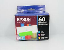 Genuine Epson 60 Ink Cartridges (T0601 T0602 T0603 T0604)