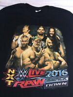 Nxt Wwe Wwf T-shirt Smack Down Raw 2016 John Cena Brock Lesnar M