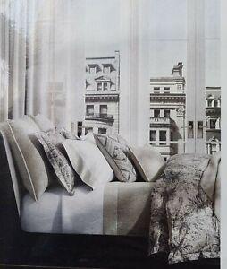 Ralph Lauren DOVER STREET GWENDOLYN Gray Floral Duvet Cover - Full/Queen New
