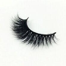 1 Pair Mink hair False Eyelashes Makeup Natural Fake Thick Black Eye Lashes