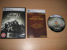 FALLOUT 3 Pc DVD Rom FALL OUT III - Epic RPG - FAST DISPATCH