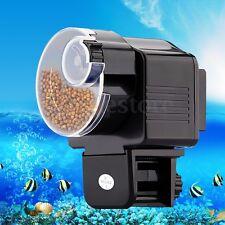 Automatic Auto Fish Tank Pond Food Feeder Feeding Timer Aquarium Manual US STOCK