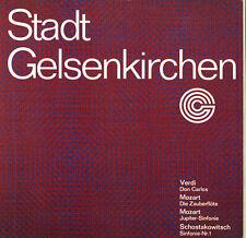 SHOSTAKOVICH Symphony 1 MOZART Sym K.551, Zauberflote VERDI Don Carlos UWE MUND