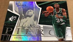 2003-04 PAUL PIERCE UPPER DECK SPX BASE CARD #4 BOSTON CELTICS