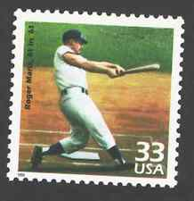 US. 3188 n. 33c. Roger Maris, 61 in '61, 1961. Celebrate The Century