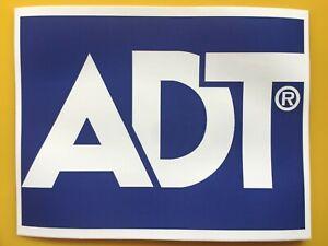 ADT Sticker for Burglar Alarm Box Stickers Dummy Office Home Window