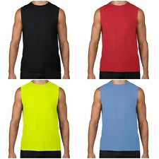 MEN'S TANK TOP T SHIRT FOR SPORTS BODYBUILDING WORKOUT GYM