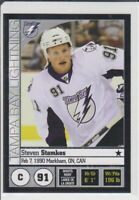 2008-09 Panini Stickers #117 Steven Stamkos RC Rookie Hockey NHL